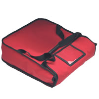 20-Inch 2 Pie Bag, Red